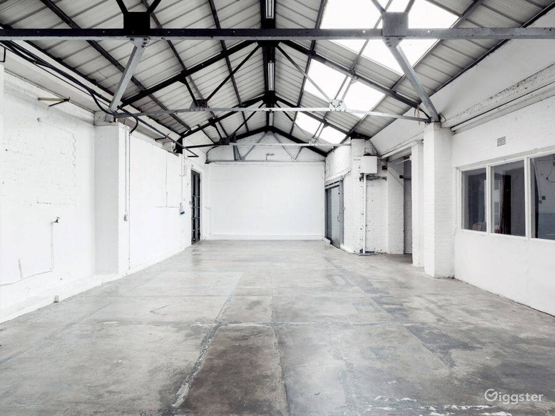 Large Event Space with Different Textures in London Photo 1