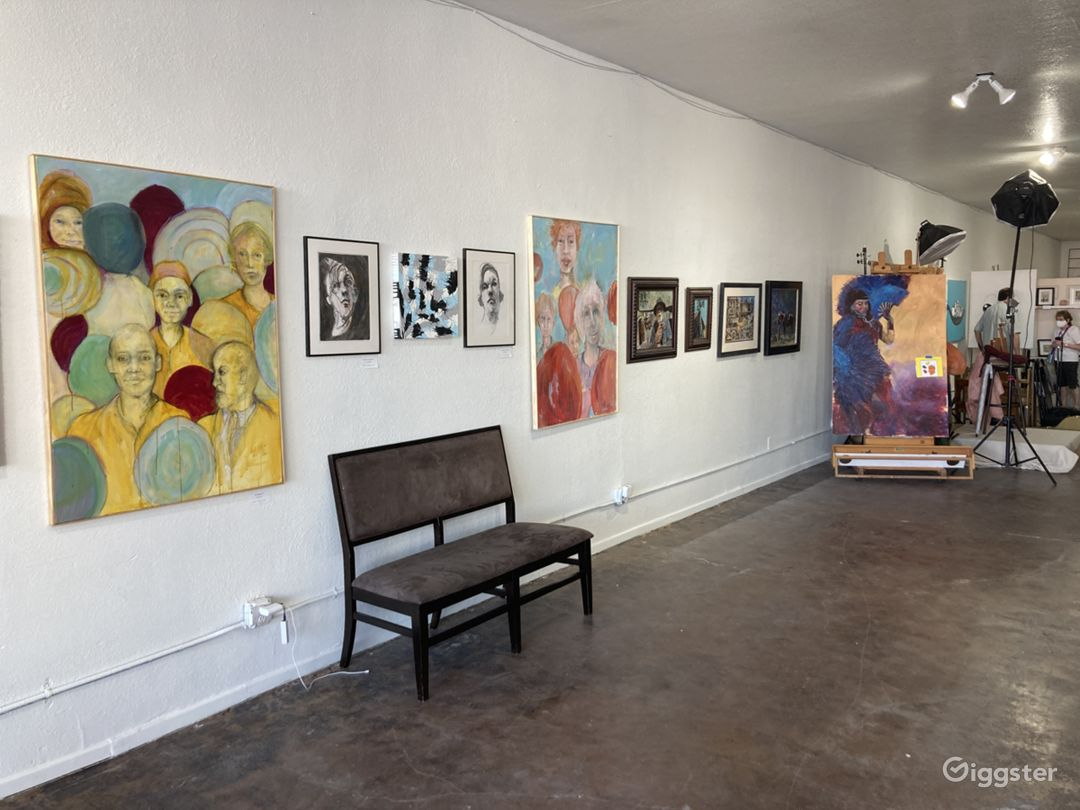Art Studios and Exhibit Space / Downtown Las Vegas Photo 1