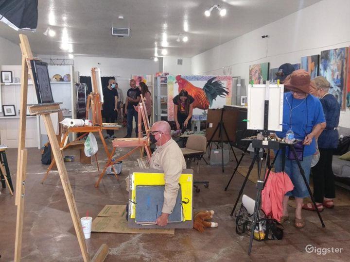 Art Studios and Exhibit Space / Downtown Las Vegas Photo 2