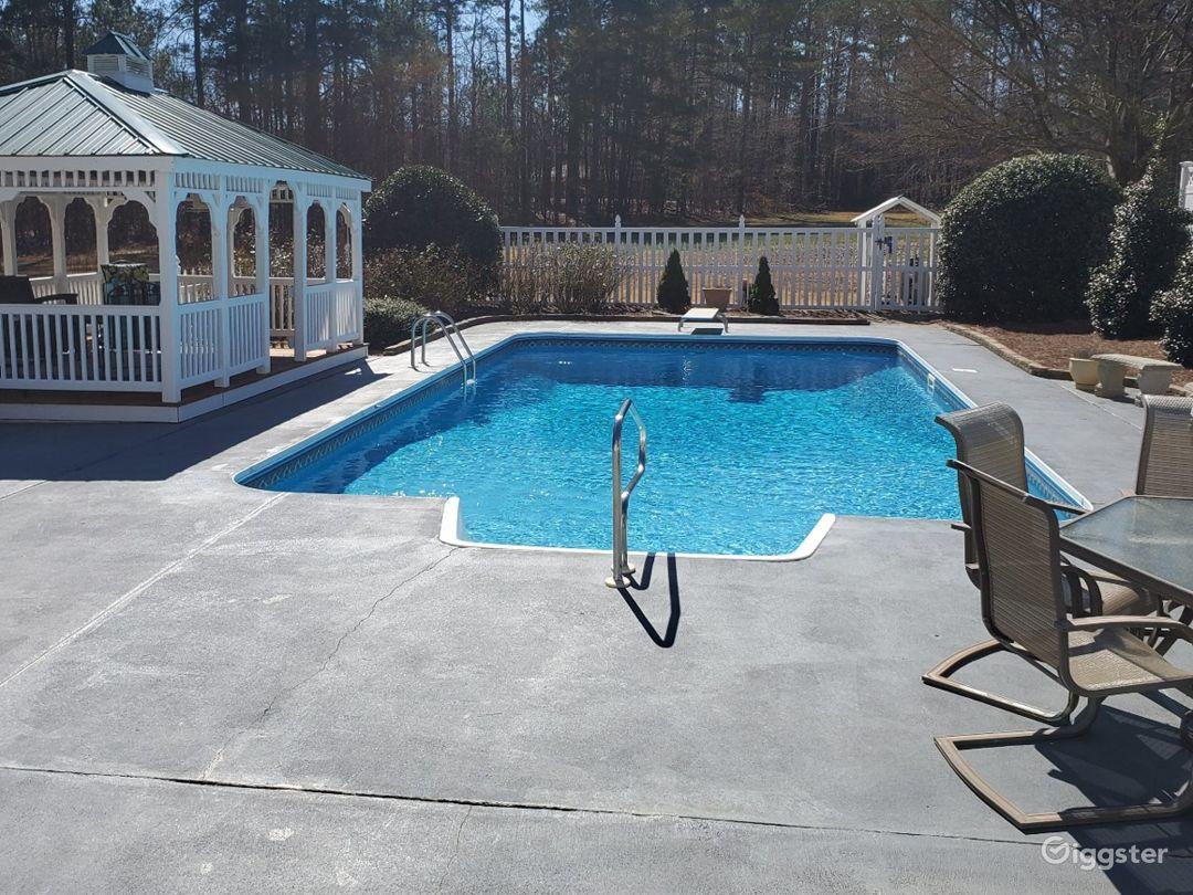 Pool level view