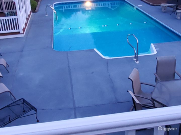 Night Pool Look