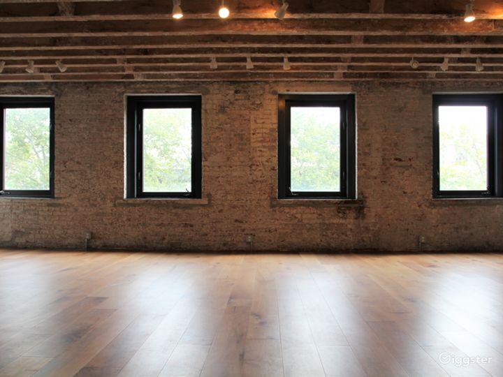 Convenient Exposed Brick Studio with Park Views Photo 3