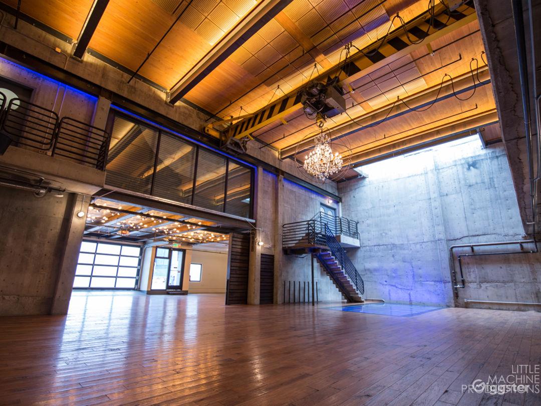 Modern Foundry Atrium Photo 1