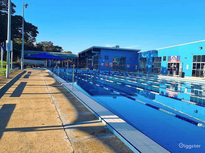 A 50M Olympic Size Outdoor Pool  Photo 5