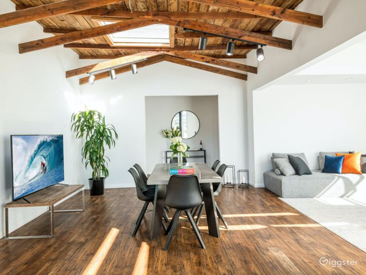 New York loft style meets Los Angeles view