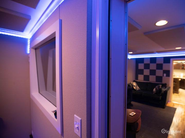 Studio A - Vocal Booth/Control Room
