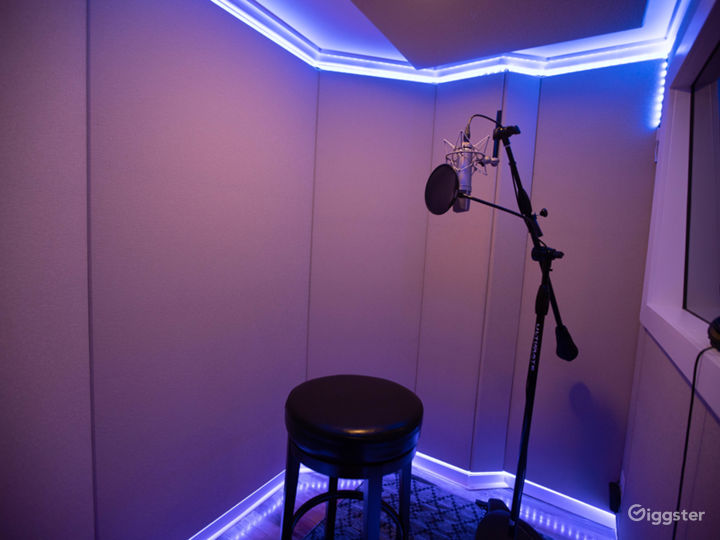 Studio A - Vocal Booth