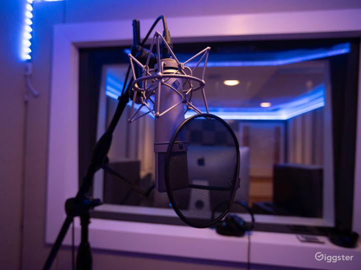 Studio A - U87 Microphone
