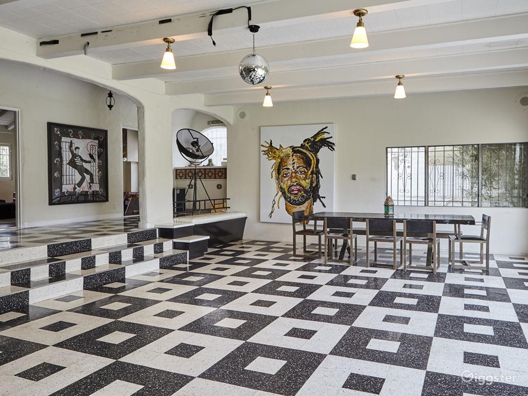 Beverly Hills Rock Mansion Photo 1