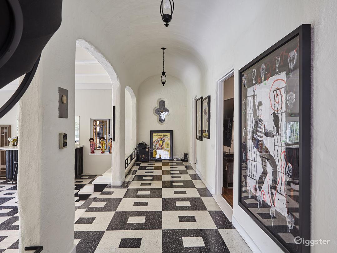 Beverly Hills Rock Mansion Photo 2