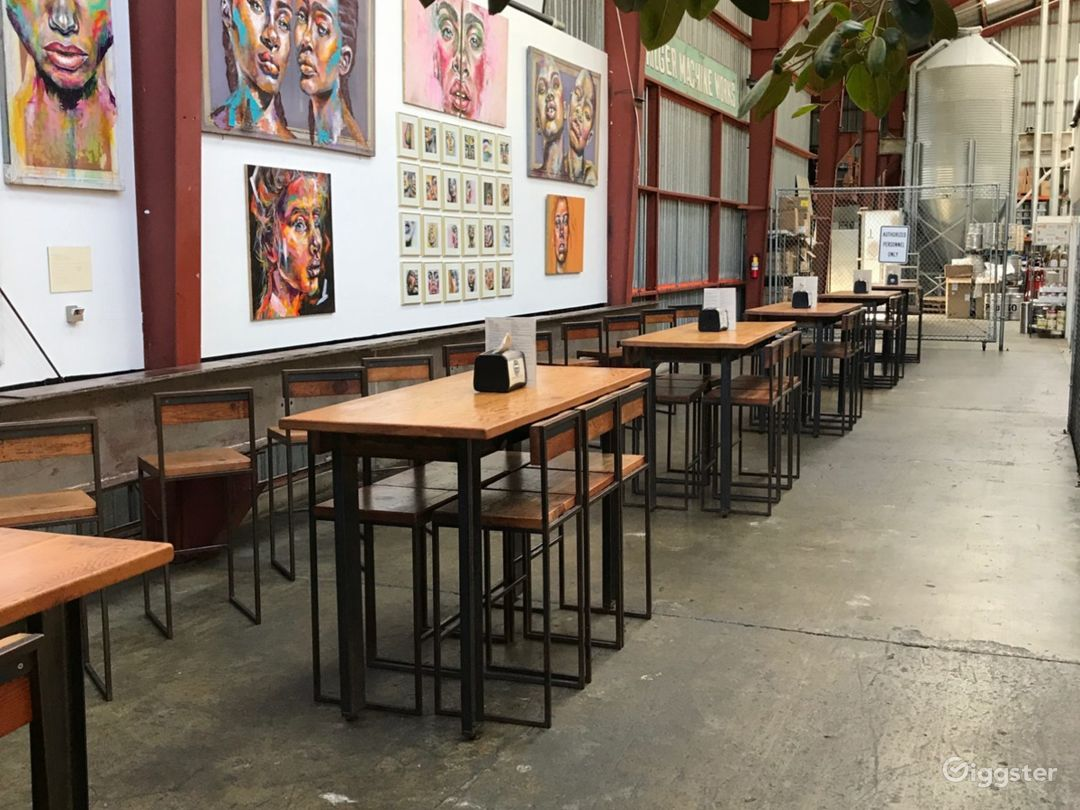 Bright Industrial Venue and Restaurant  Photo 1