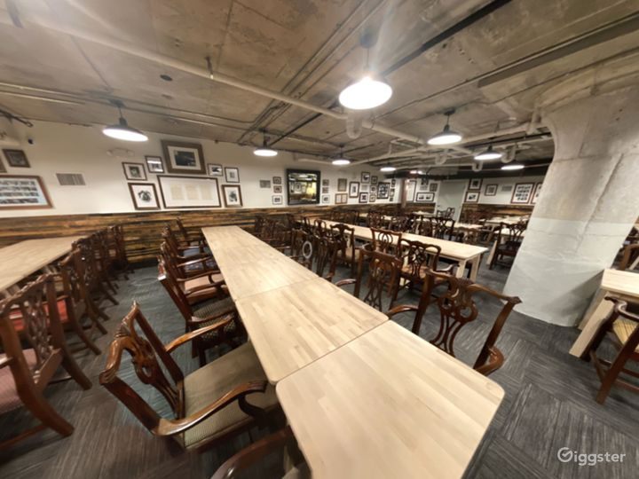 A Club's Basement Hall for Large or Small Private Gatherings Photo 5