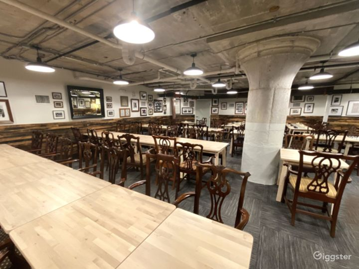 A Club's Basement Hall for Large or Small Private Gatherings Photo 4