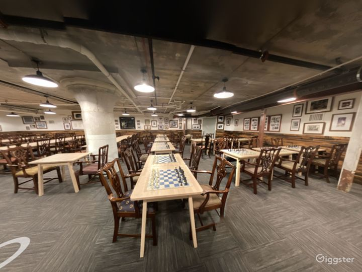 A Club's Basement Hall for Large or Small Private Gatherings