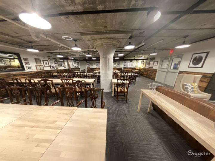 A Club's Basement Hall for Large or Small Private Gatherings Photo 2