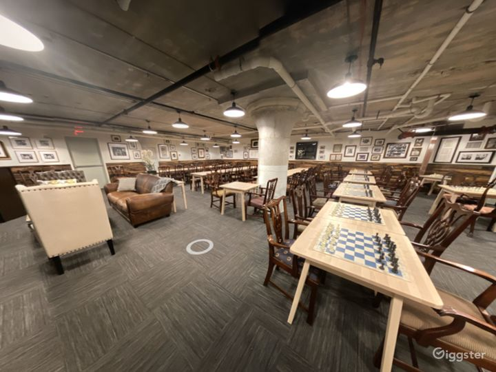 A Club's Basement Hall for Large or Small Private Gatherings Photo 3