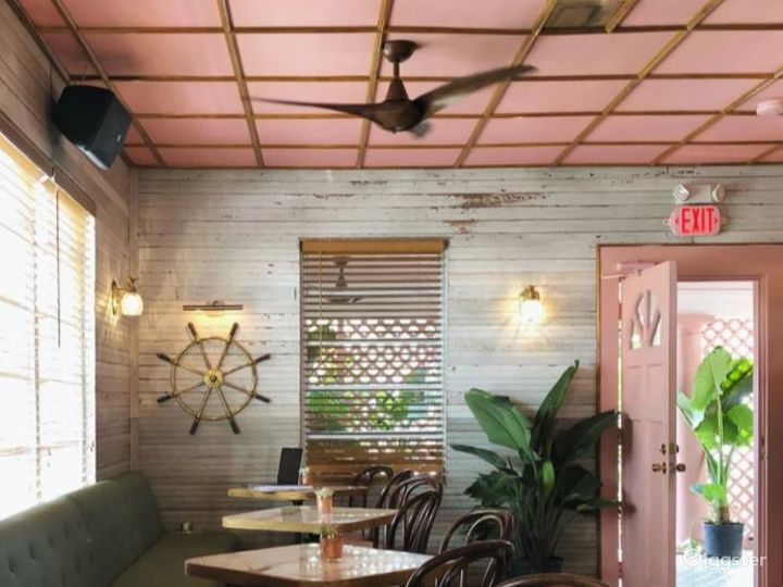 The House: Classic Floridian Tropical Bar Venue in Miami