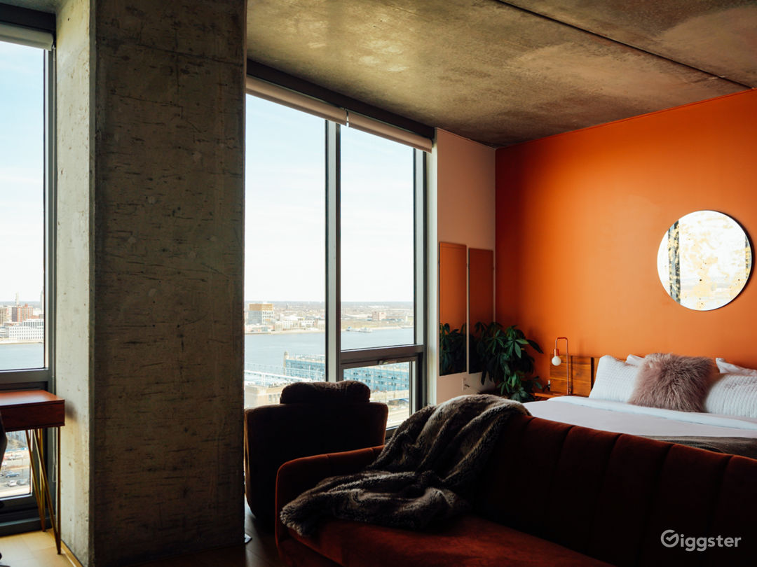 Penthouse Studio with River View Photo 5
