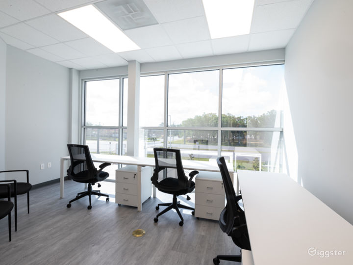 Upscale Corporate Image Private Office Space Photo 4