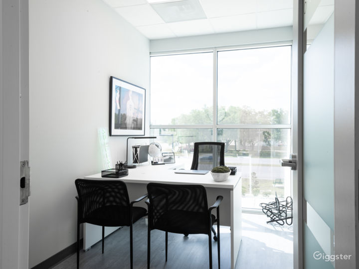 Upscale Corporate Image Private Office Space Photo 2