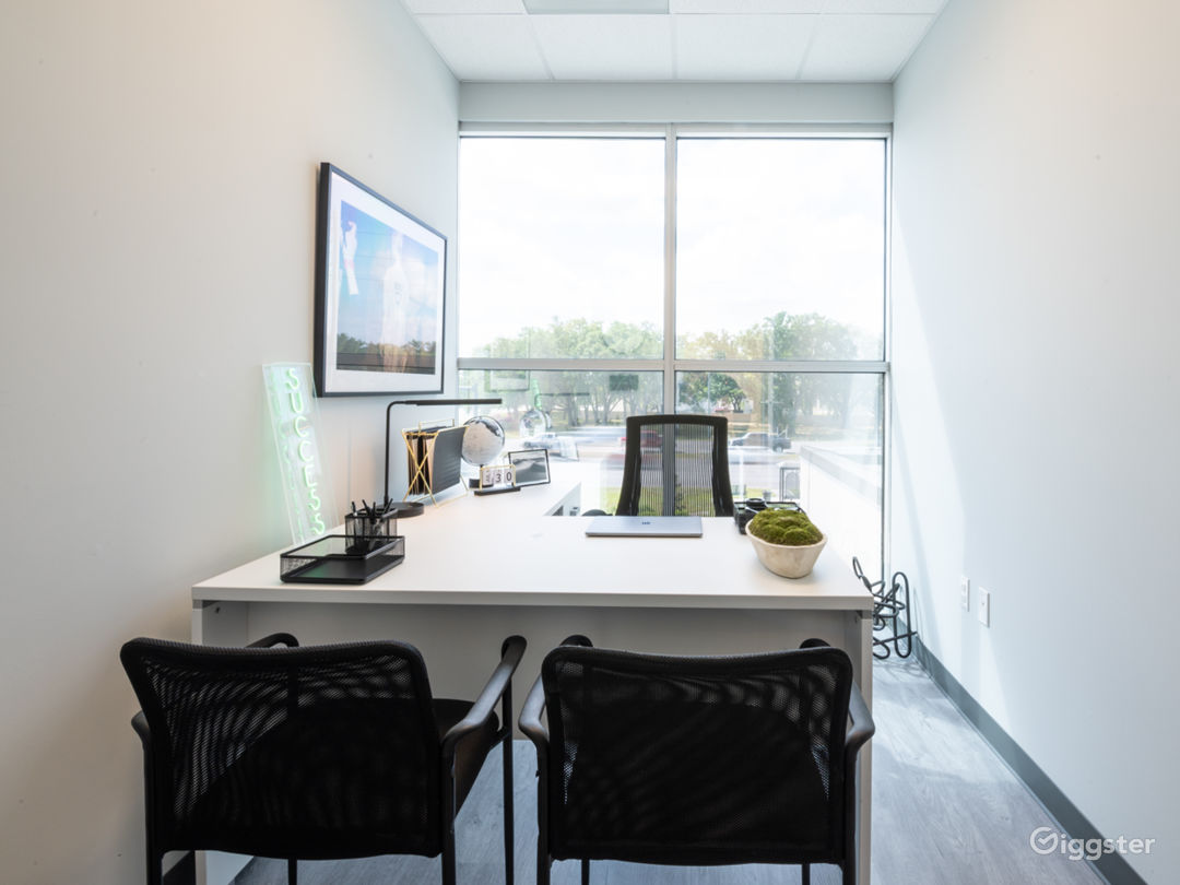 Upscale Corporate Image Private Office Space Photo 1