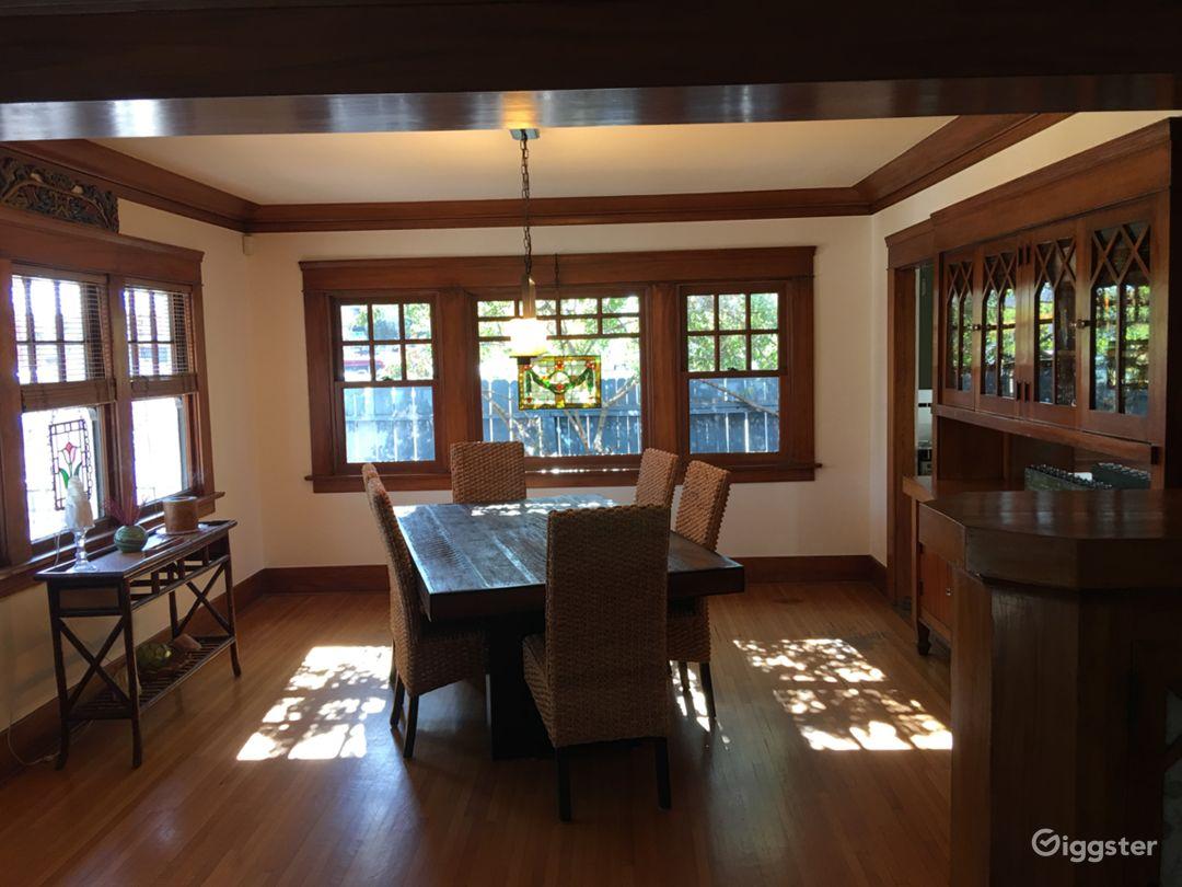 Living room- 1921 craftsman home