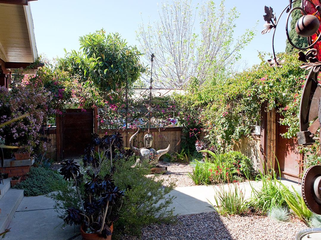 Front garden-Left side