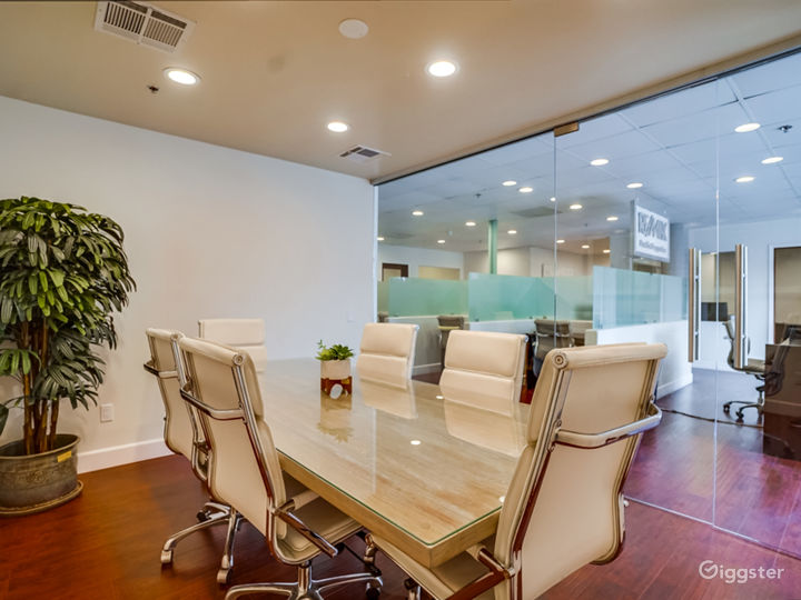 Spacious and open office space!