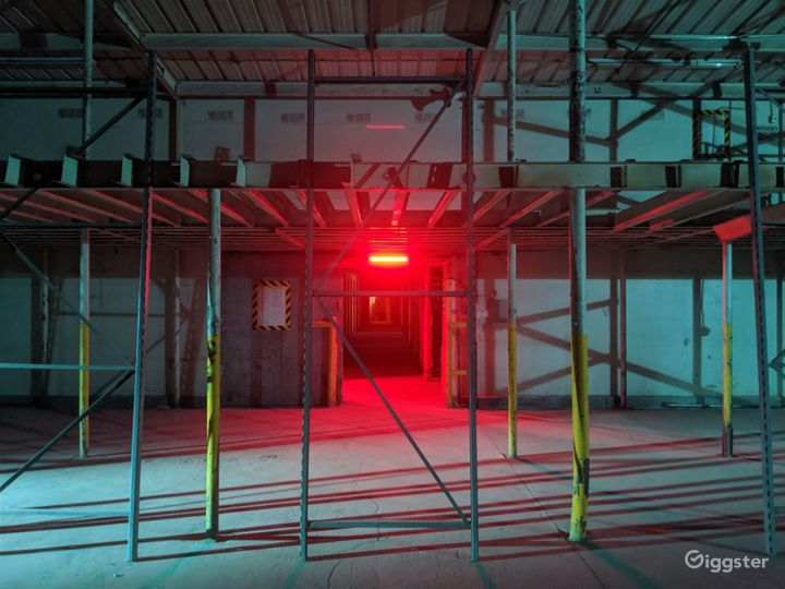 Largest Industrial Factory Film & Backlot Studio