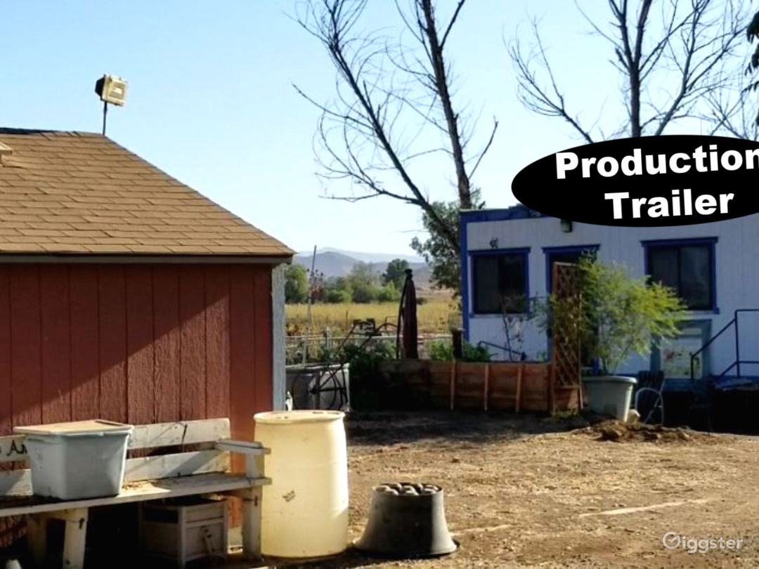 Production office available for filmmaker and crew