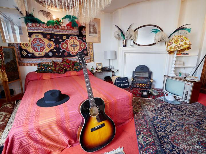 Jimi Hendrix's bedroom.