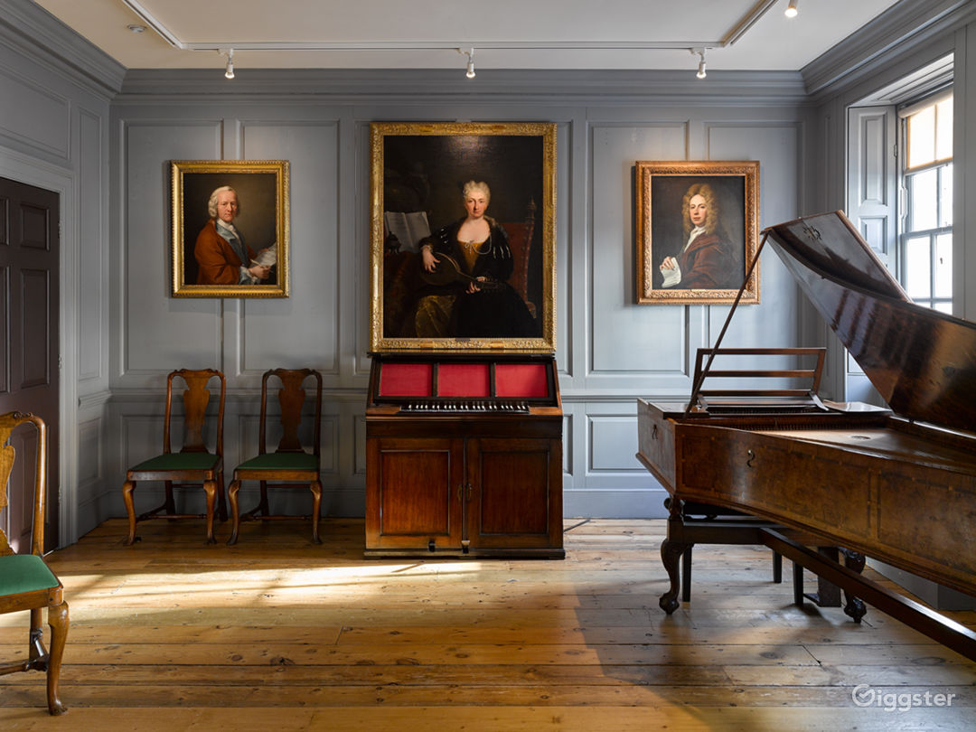Handel's Music Room.