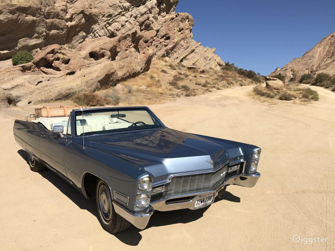 Convertible 1968 Cadillac Deville Photo 1