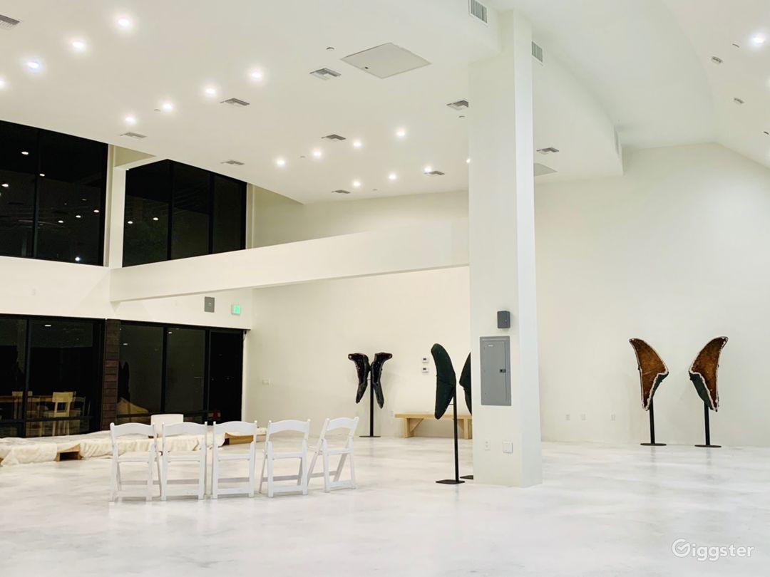 Grand indoor space