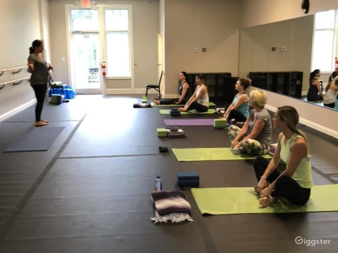 Light & Airy Dance Studio in Chapel Hill Photo 1