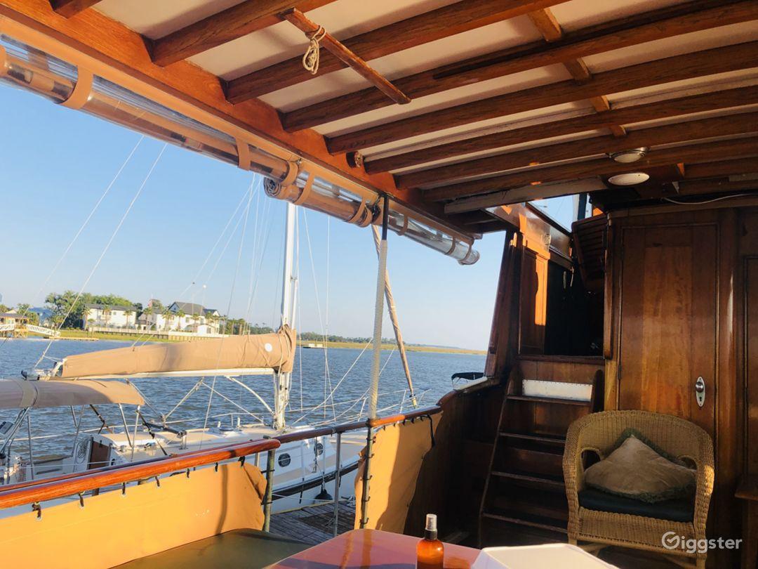 Classic Yacht on St. Simons Island, Ga  Photo 4