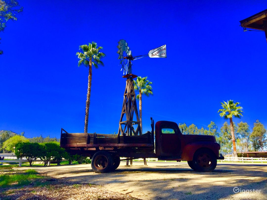 The Ranch features vintage trucks and more