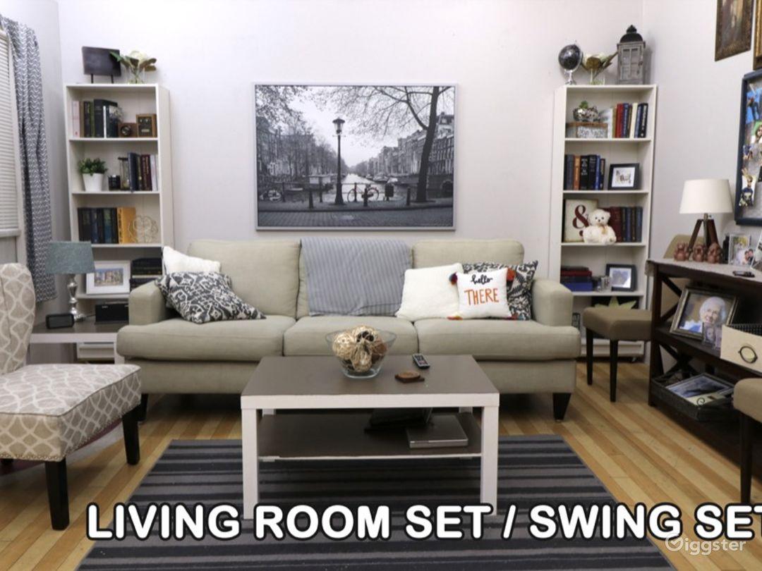 Living Room Set / Swing Set