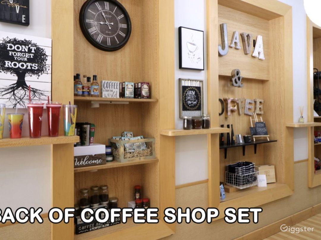Back of Coffee Shop Set