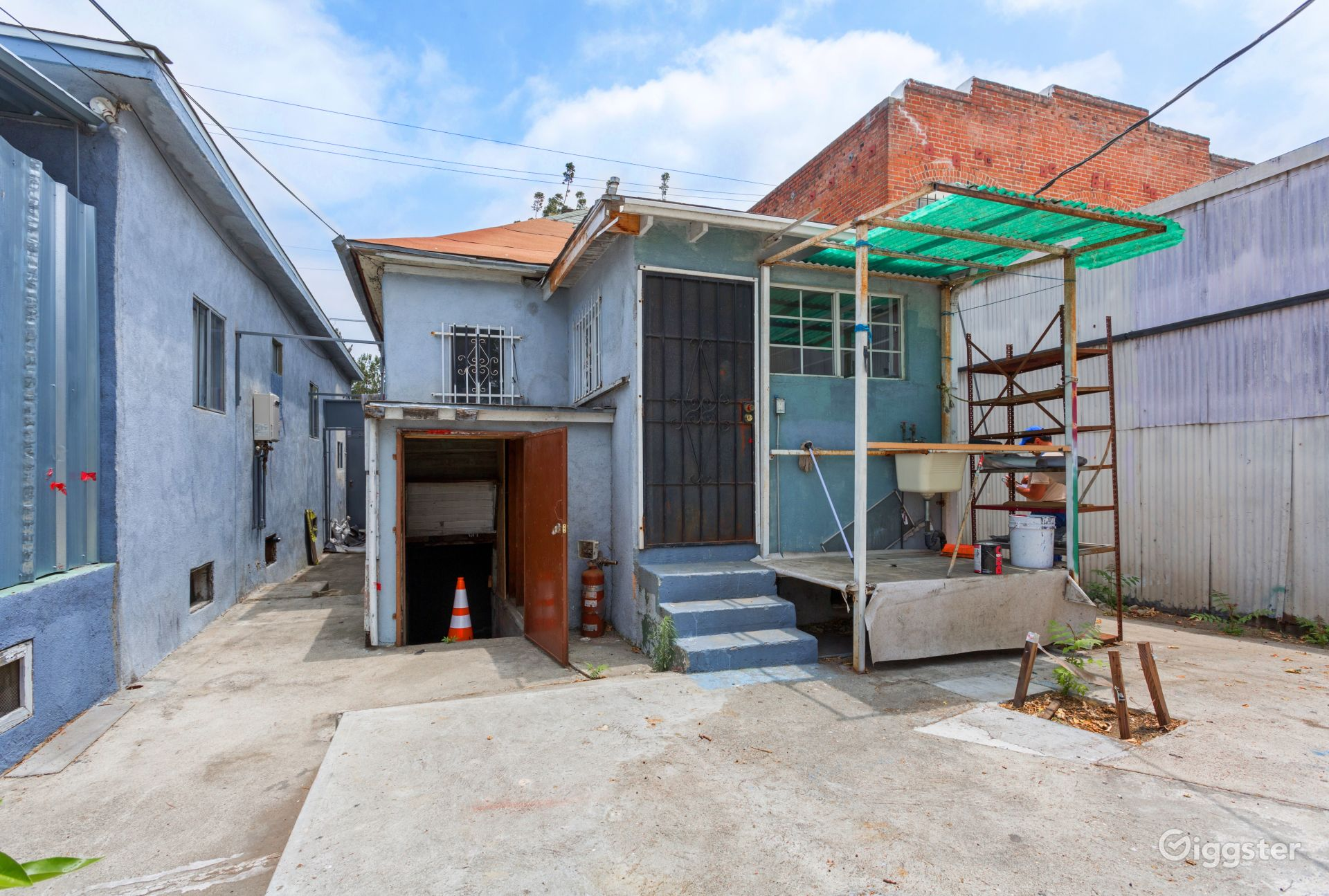 Downtown L.A Stripped House near L.A Civic Center Los Angeles Rental