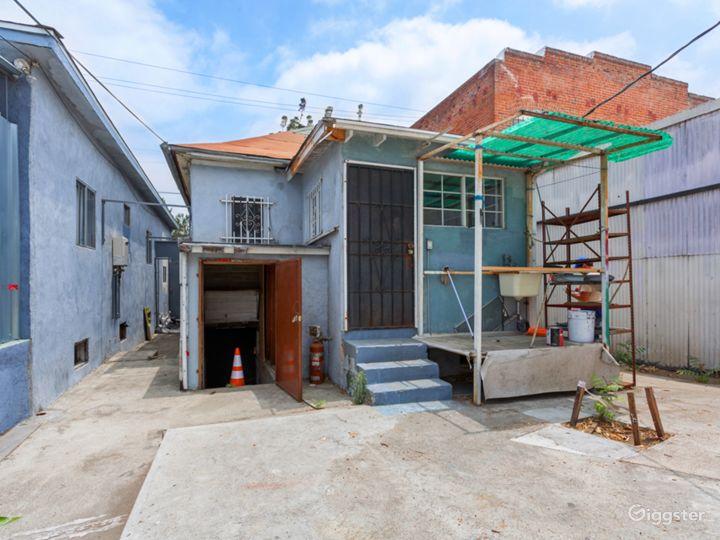Downtown L.A. Stripped House