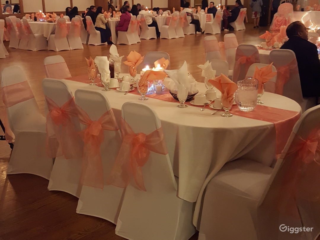 Warm and open banquet hall Photo 4