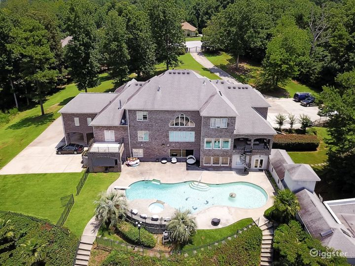 Bird Eye View Of Back Of House