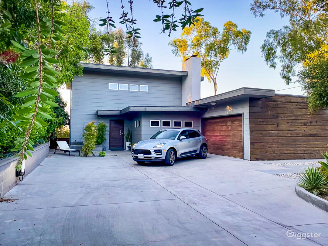 Front Exterior and Driveway