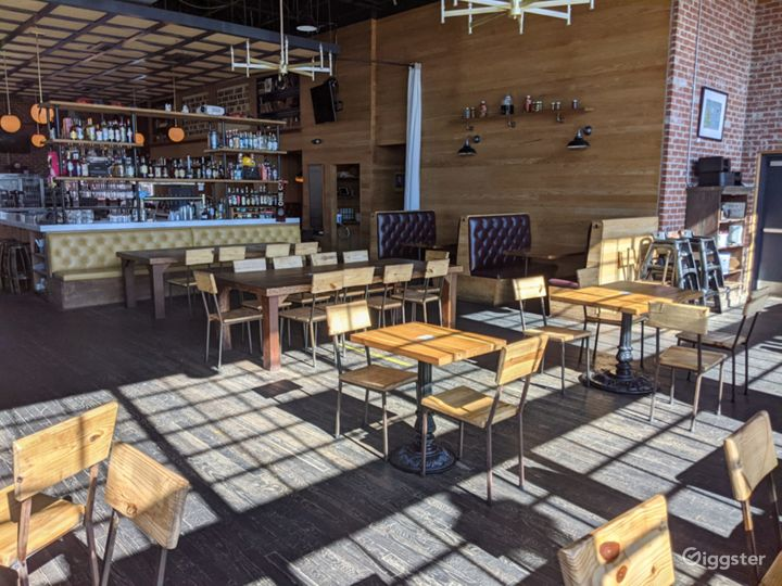 Industrial Style Bar & Restaurant