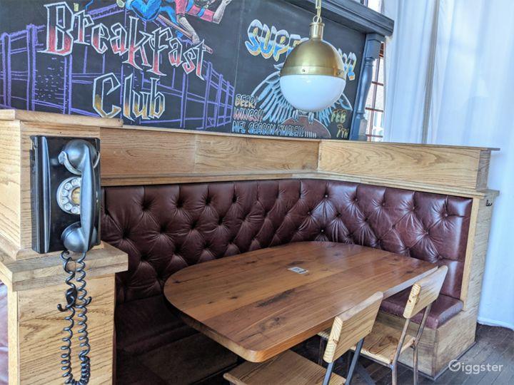 Industrial Style Bar & Restaurant Photo 2