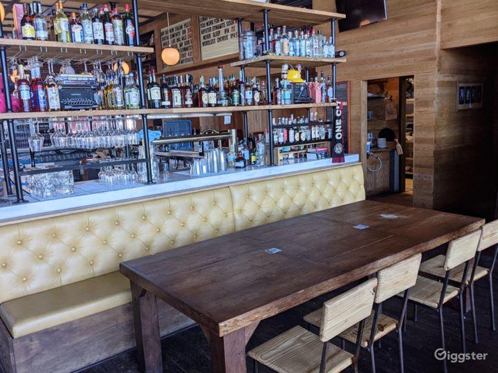 Industrial Style Bar & Restaurant Photo 5