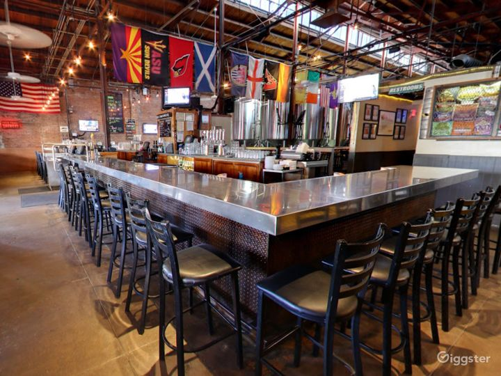 Beautiful Bar Area in a Historic Taproom Photo 5