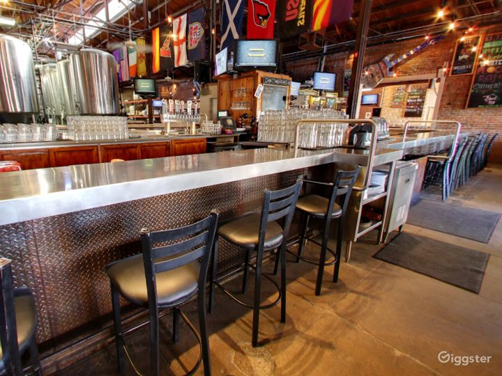Beautiful Bar Area in a Historic Taproom Photo 2