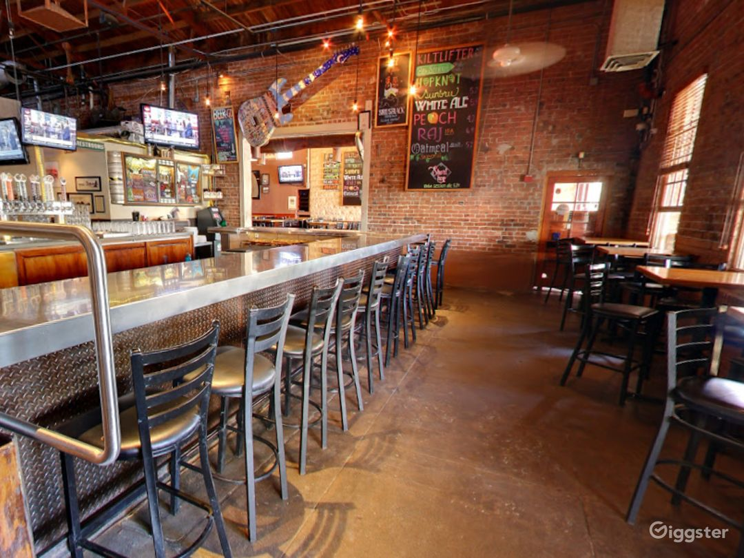 Beautiful Bar Area in a Historic Taproom Photo 1